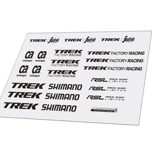 Bike Frame Helmet Stickers Set For TREK Vinyl Decals Cycling Bicycle Mtb Road