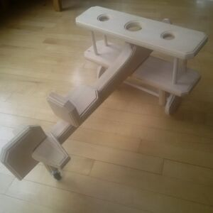 Hand-crafted wooden biplane St. John's Newfoundland image 3