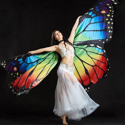 C151 Isis Wing Schmetterling Flügel Schleier Bauchtanz Kostüm Fasching - Tanz Flügel Kostüm