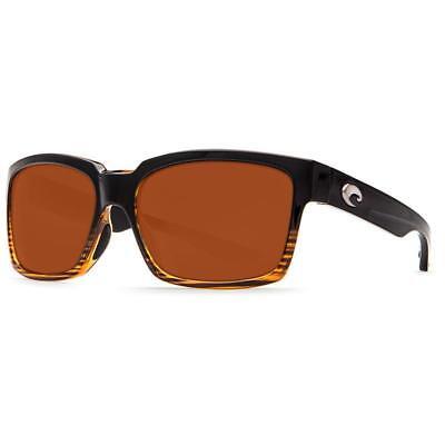 91e7b04a96a7d New Costa Del Mar Playa Polarized Sunglasses 580G Glass Coconut Fade Copper  Fish