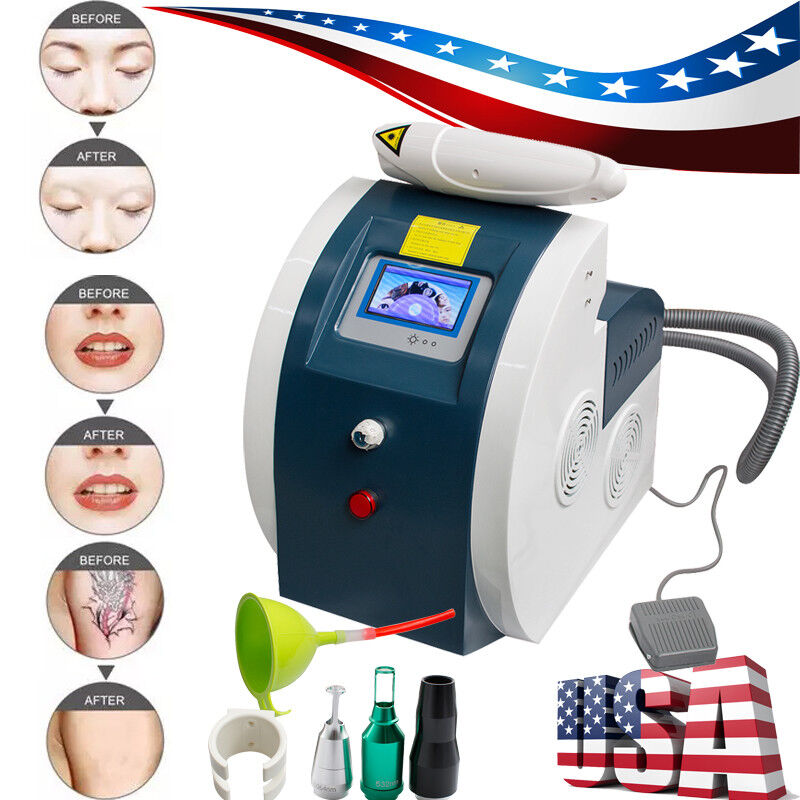 Professional Laser Tattoo Removal Eyebrow Eyeline Lipline Pigment Remove Machine
