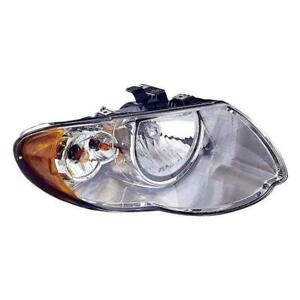 2005-2007 Chrysler Town And Country Passenger Side Head Light Lens And Housing - CAPA Certified ®