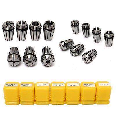7x Er11 Spring Collet Set For Cnc Engraving Machine Milling Lathe Tool Boxes