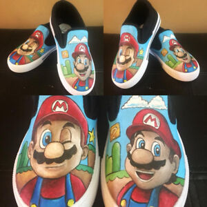 Custom Painted Shoes!