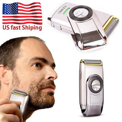 Men Electric Shaver Razor Dirk Blade Beard Trimmer Shaving Machine Rechargeable