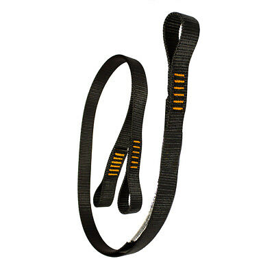 "Fusion Climb 6ft 72""x1"" Y-Legged Fall Safety Zipline Lanyard Small Loops 23kN"
