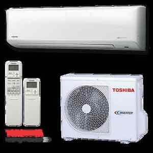 Toshiba RAS-10N 2.5kw Reverse Cycle Split System Air Conditioner Stafford Heights Brisbane North West Preview