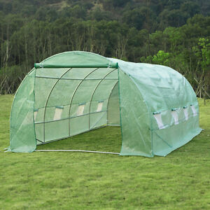 20' x10' x 6.7' Walk-In Greenhouse Garden Plant Seed Green House