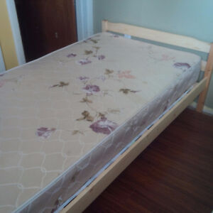 Mattress ,bed box, and bed frame