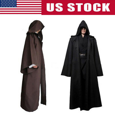 Star Wars Bathrobe (Sleepwear Men's Robe Jedi Sith Hooded Bathrobe Pajamas Cloak Gown)