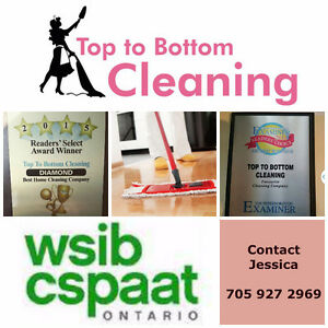 Top to Bottom Cleaning Residential/office cleaning Peterborough Peterborough Area image 1