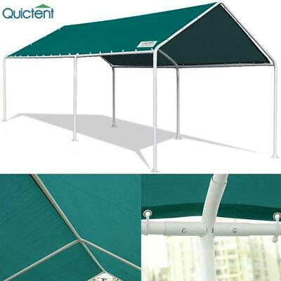 Quictent Heavy Duty Carport Canopy Outdoor PE Cover Garage C