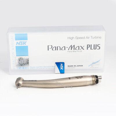 Nsk Pana Max Plus Dental High Speed Handpiece M3 Air Turbine Standard Push 4hole