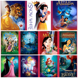 Looking for the disney princess movies
