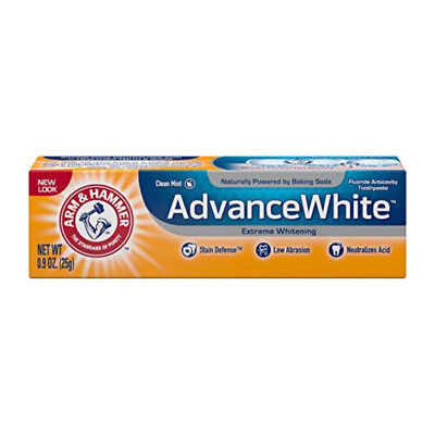 ARM & HAMMER Advance White Extreme Whitening Toothpaste,Clean Mint 0.9oz