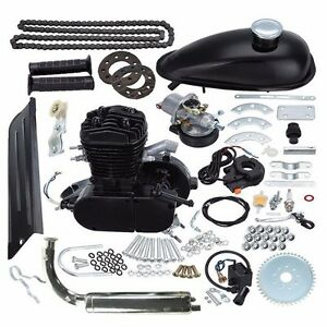 "80CC 2-stroke engine kit will fit 26"" or 28"" Bicycle"
