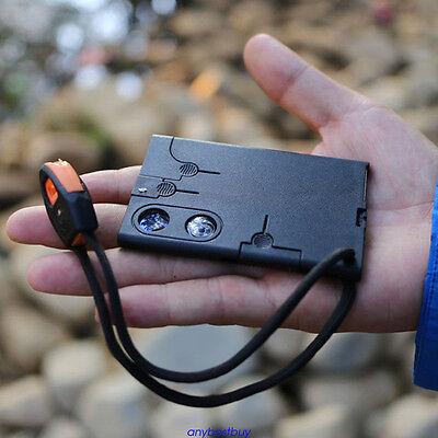 18 in 1 Multi Purpose Pocket Credit Card Survival Tool Outdoor Camping Tool Set
