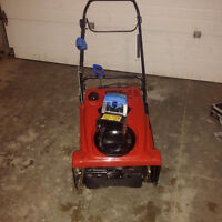 "Toro 721 QZE 21"" Snow Thrower 212cc - Used Only Once"