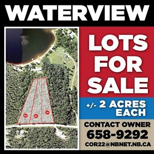 Lake Utopia Waterview Lots For Sale