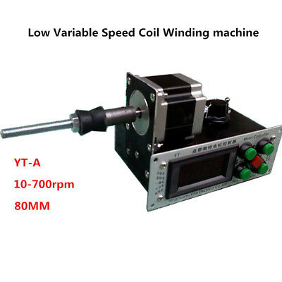 220v Digital Control Automatic Low Variable Speed Coil Winding Machine Yt-a Y