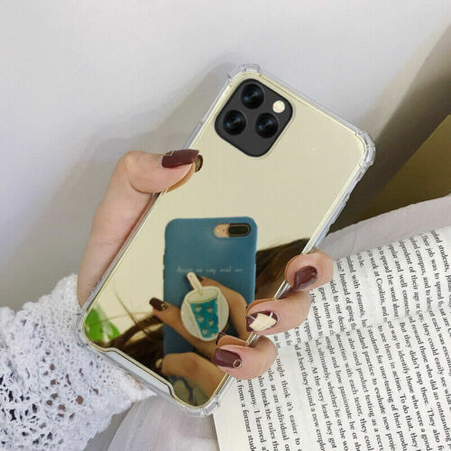 For iPhone 11 Pro Max XR XS 7 8 6s Plus Luxury Mirror Shockproof Back Case Cover