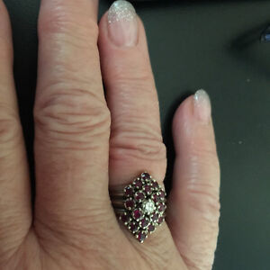 Beautiful one of a kind Dinner Ring