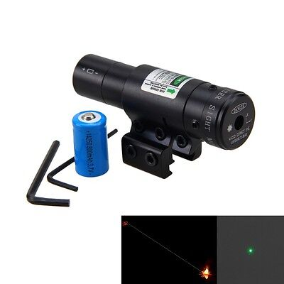 Red Green Laser Light Combo Sight Rifle Pistol Compact Picatinny Mount 11mm/20mm Combo Green Compact