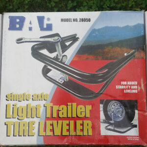 """Single Axle RV trailer leveller up to 15"""""""