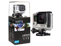 GoPro Hero 4 Brand New In Box, Action Sports Camera, Perfect Christmas Present