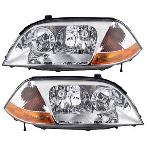 NEW 2001-2003 MDX HEADLIGHT ASSEMBLY