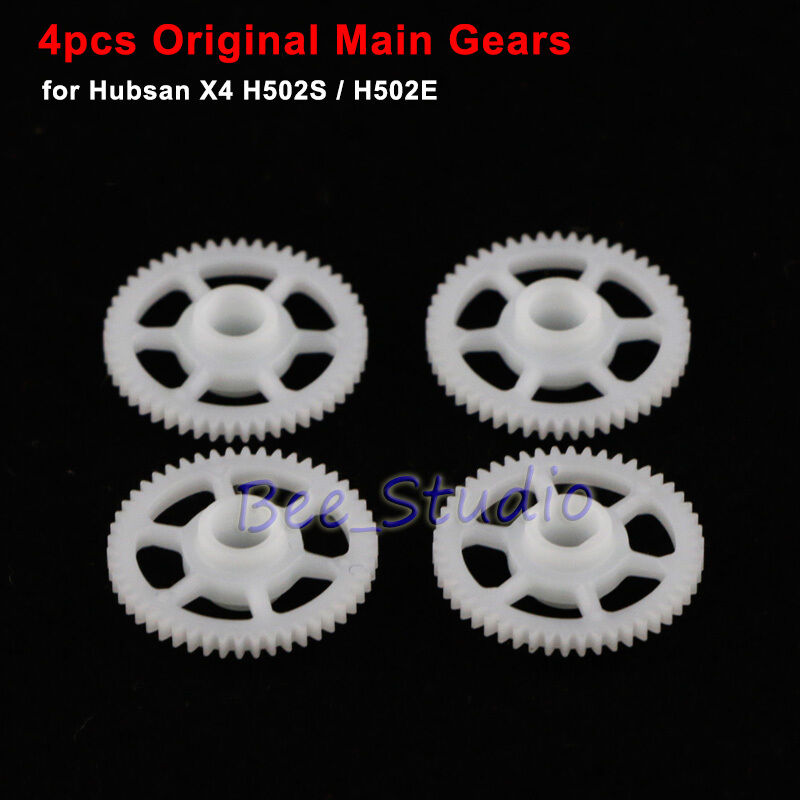 4Pcs Main Gear Wheels for Hubsan X4 H502S H502E RC Quadcopter Drone Spare Part