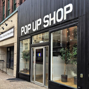BOOK OUR SPACE for your next POP-UP SHOP or EVENT