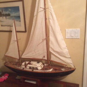 historic ship model with provenance.