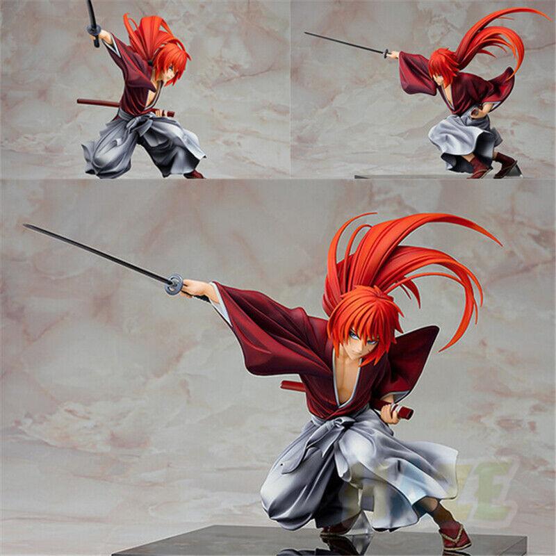 "Rurouni Kenshin Meiji Swordsman Romantic Story Kenshin Himura Figure 7"" New"