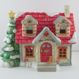 "Cherished Teddies ""A Christmas Carol"" Night Light House"