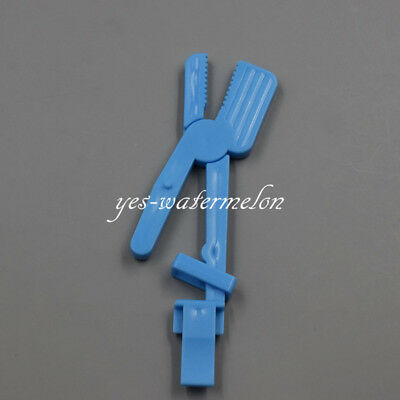 1 Pc Dental Plastic Snap Universal X-ray Film Clip Holders Autoclavable Blue
