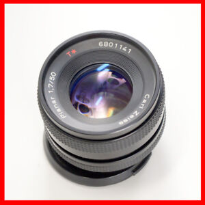 Carl Zeiss Planar Red T 50mm F1.7 lens Y/C mount