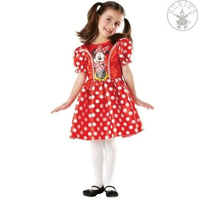 RUB 3883859 Red Minnie Mouse Classic Disney Kinder Kostüm Kleid Kinderkostüm - Kostüm Red Minnie