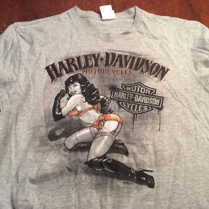 Sudbury Ontario Canada Harley Davidson T Shirt