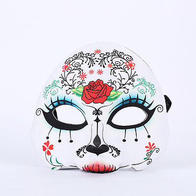 Masquerade Mexico Mask Skull Style Pretty Party Evening Halloween Mask