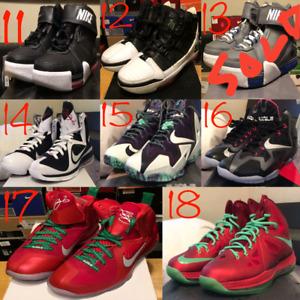 Lebron LBJ shoes Men's size 8-9 Deadstock
