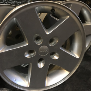 "Jeep Wrangler Original 17"" Wheels (5x)"