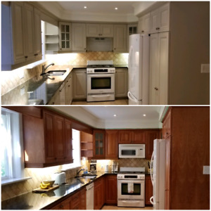 Kitchen Cabinets Painters Painting Services In Oshawa Durham