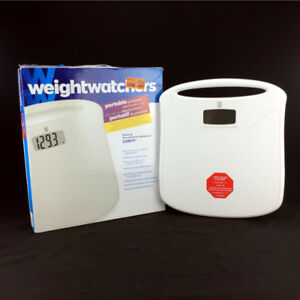 Weight Watchers Bathroom Scale 400 Pounds Capacity Accurate