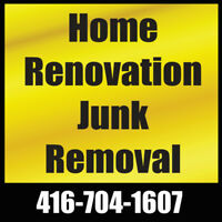 Home Renovation Junk Removal   416-704-1607