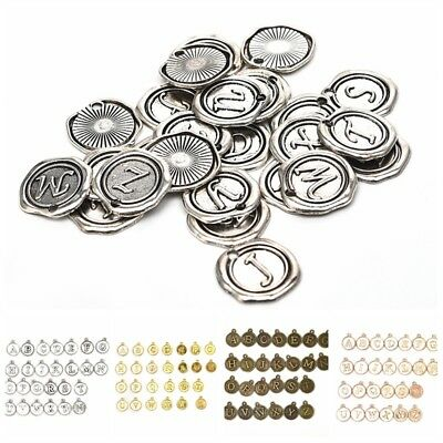26Pcs Wholesale A-Z Alloy Alphabet Charms Pendents DIY Craft Jewelry - Alphabet Charms