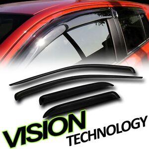 2005-2010 JEEP CHEROKEE Rain Guard Vent Window Visors BRAND NEW