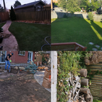 LANDSCAPING SOD TREE REMOVAL OUTDOORS SERVICES