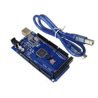 Mega 2560 R3 Atmega2560-16au Ch340g Develope Board W Cable For Arduino