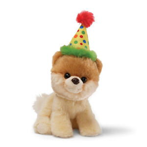 BITTY BOO The Worlds Cutest Dog Soft Toy by Gund - Happy Birthday